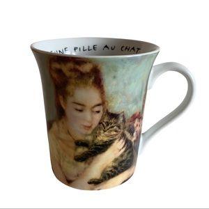 Könitz Mugs Becher Les Chats Dans l'art Renoir